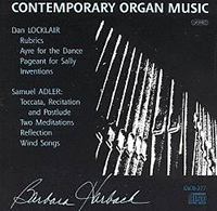 Contemporary Organ Music